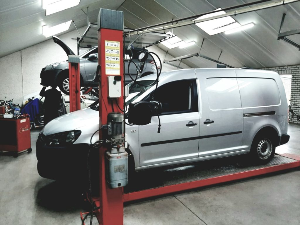 Werkplaats Autobedrijg G. Steevens Deurne